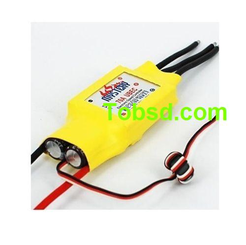 Mystery RC 70A Forward Backward 2-6s Brushless ESC Water Cooling for boat